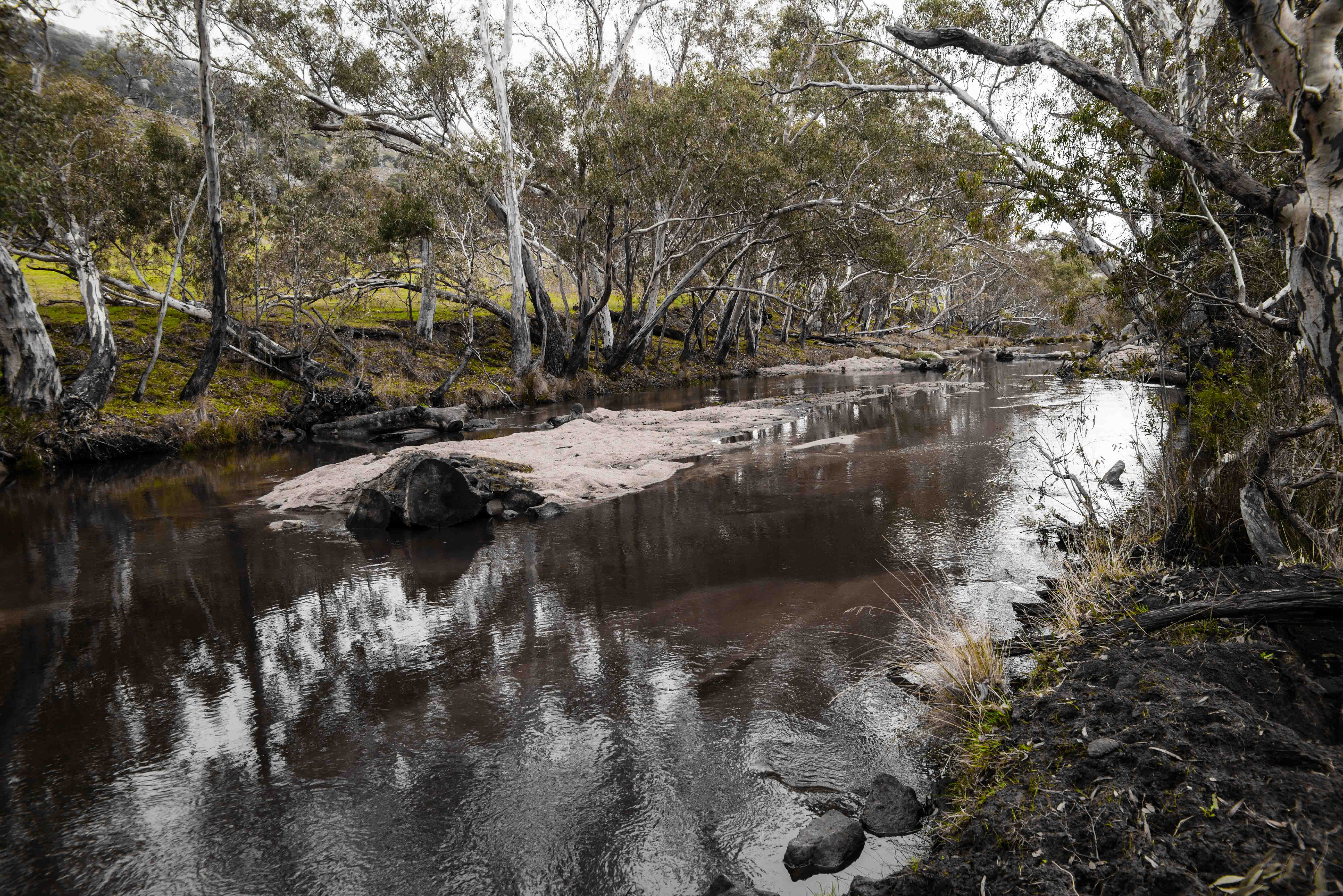 Hughes Creek in Central Victoria.