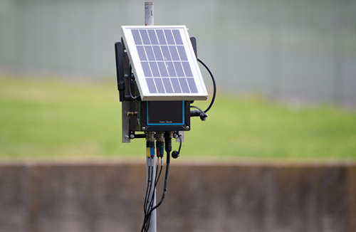 Real-time pollution monitoring
